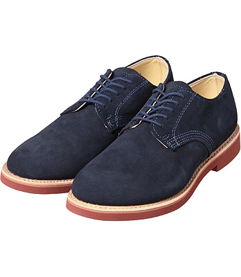 Walk-Over Derby Classic Oxford: Navy Suede 32096