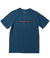 PATAGONIA '73 Text Logo Recycled Cotton/Poly Responsibili-Tee GLSB