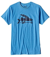 PATAGONIA Flying Fish Cotton/Poly T-Shirt RAD