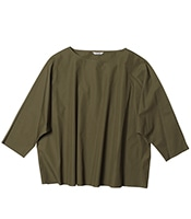 LE GLAZI Pullover Shirt Typewriter Cloth