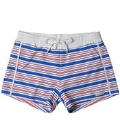 SAUVAGE Italia Stripe Retro Lycra Swimmer