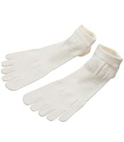C3FIT Paper Fiber 5 Finger Socks