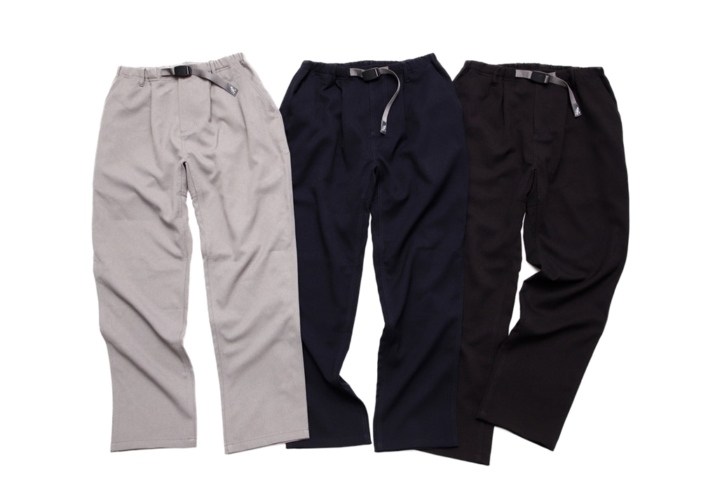 Wool Wide Tapered Pant