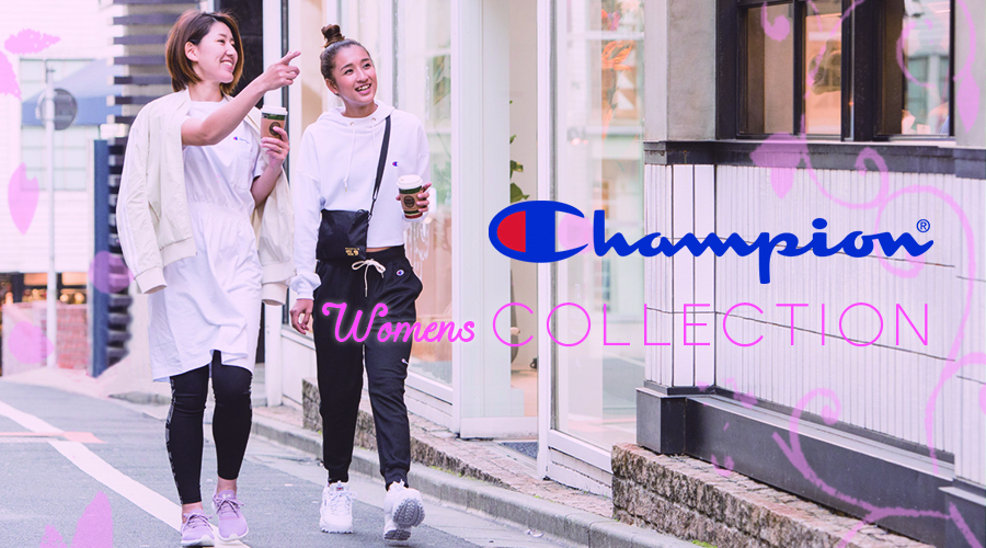 【Champion】Women's Collection!!!