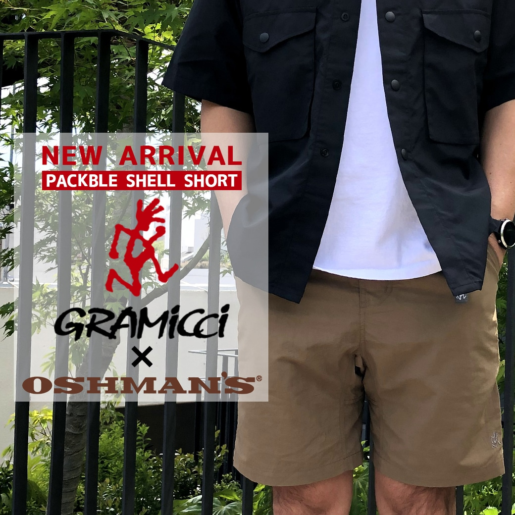 【Gramicci】2021 Spring&Summer Shorts Collection!