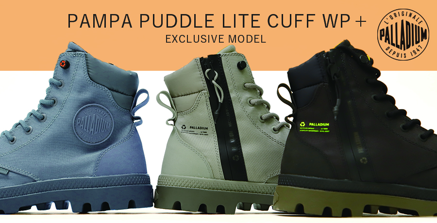 「Palladium Pampa Puddle Lite Cuff WP+」New Release!