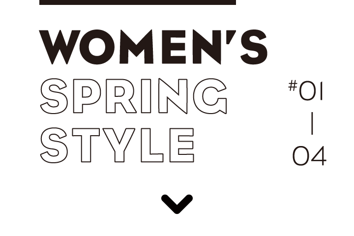WOMEN'S SPRING STYLE #01 - 04