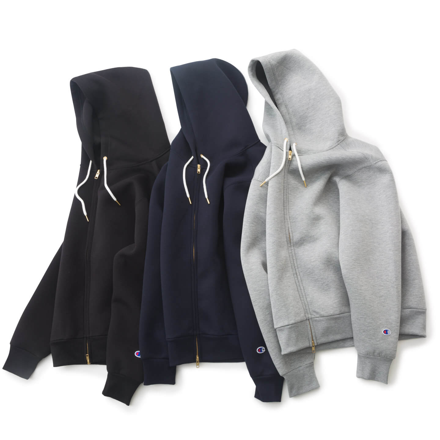別注 WRAP AIR ZIP-UP HOOD PARKA 全体写真