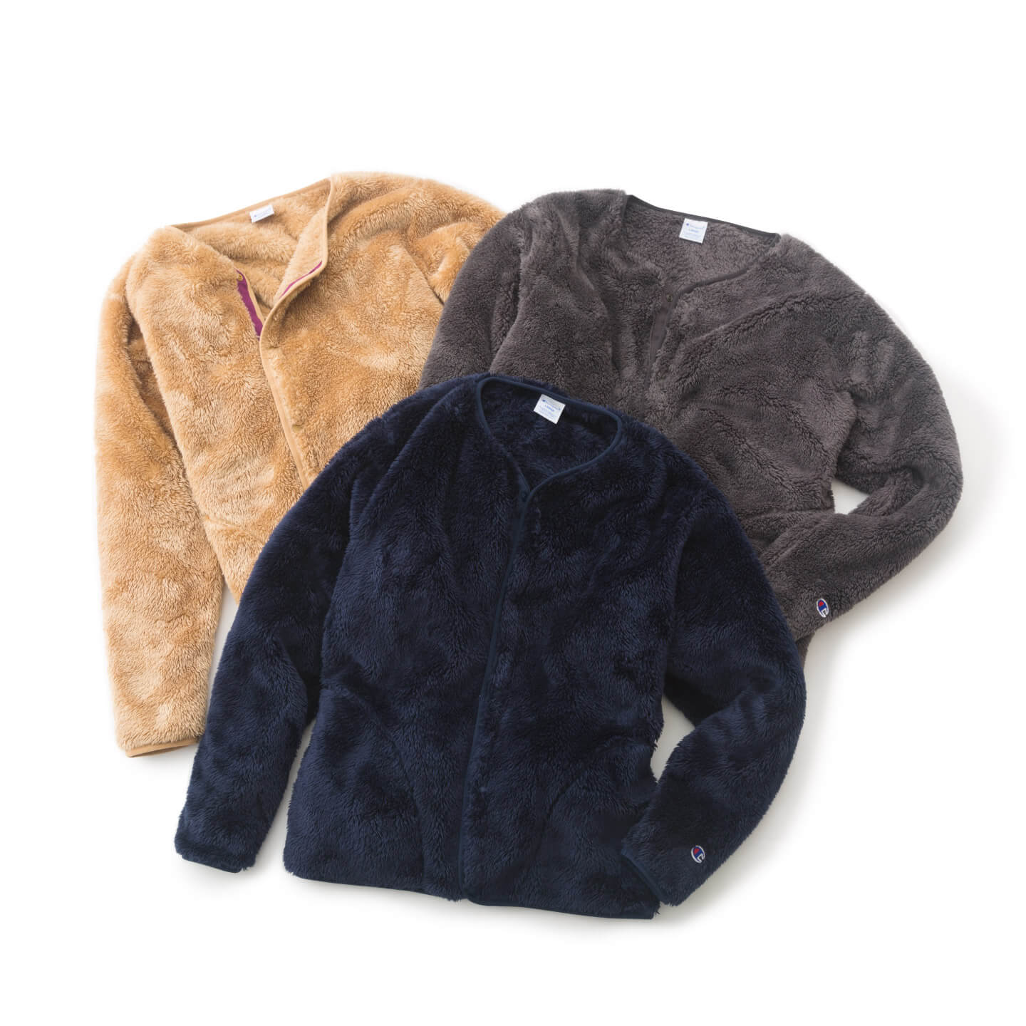 別注 SHERPA FLEECE CARDIGAN 全体写真