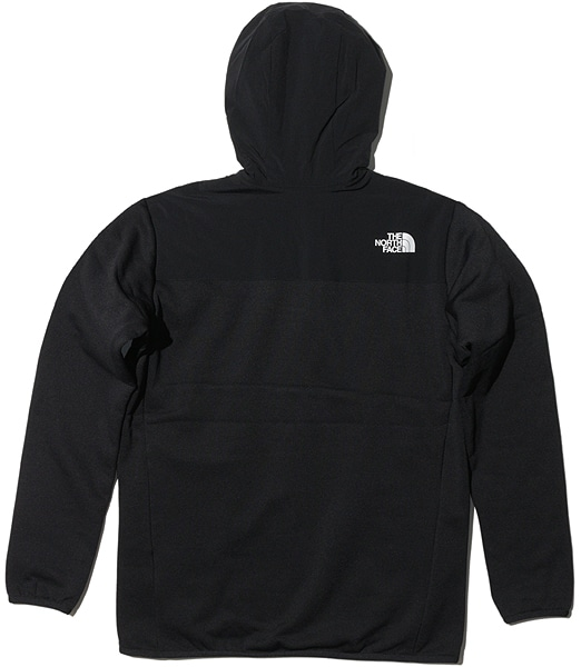 THE NORTH FACE Hybrid Nylon Fleece Hoodie
