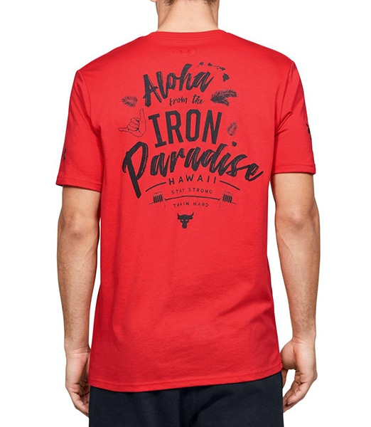 UNDER ARMOUR Project Rock Iron Paradise SS 20SS