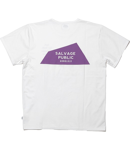 SALVAGE PUBLIC Surf Live Freely Tee 【OSHMAN'S別注】 2020SS