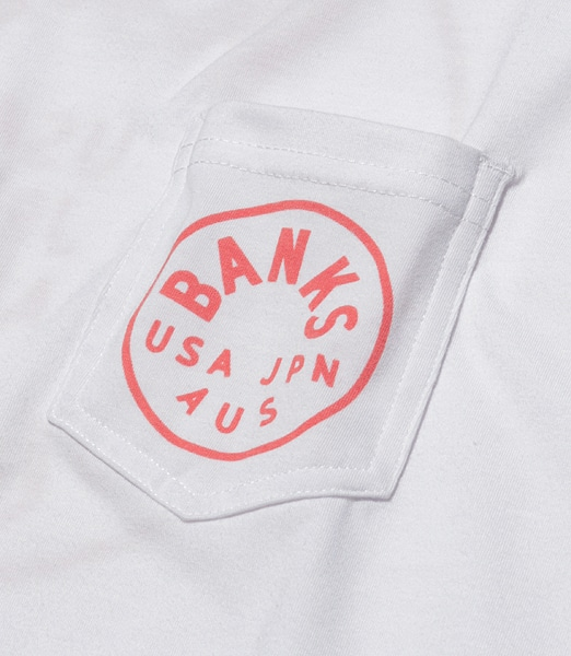 BANKS Spinner Pocket Surf Tee 【OSHMAN'S別注】 2020SS