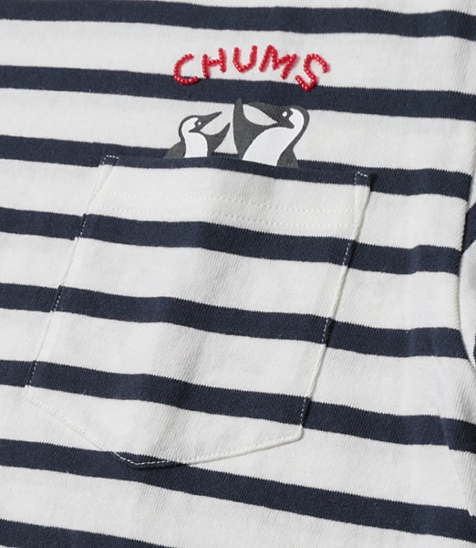 CHUMS Two Boobies In Pocket T-Shirt【OSHMAN'S別注】 2019SS