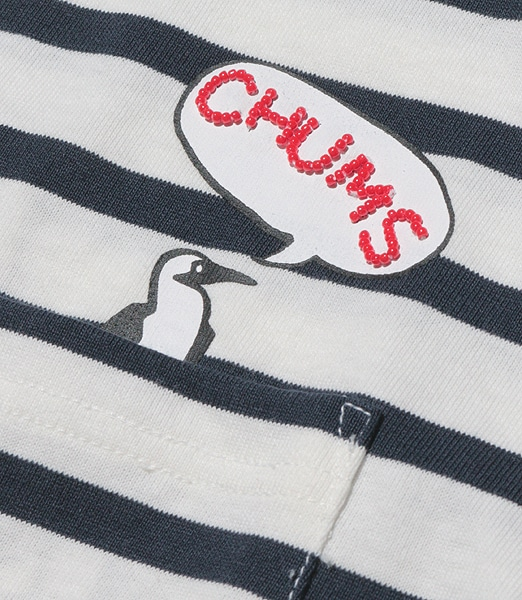 CHUMS Many Boobies In Pocket T-Shirt 【OSHMAN'S別注】 2020SS