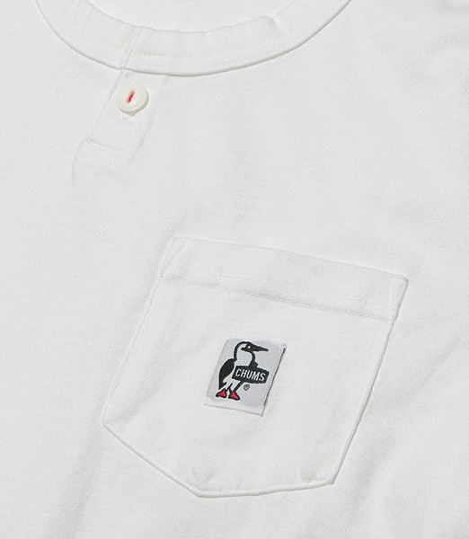 CHUMS 1Button Henley Neck Pocket T-Shirt 【OSHMAN'S別注】 2020SS