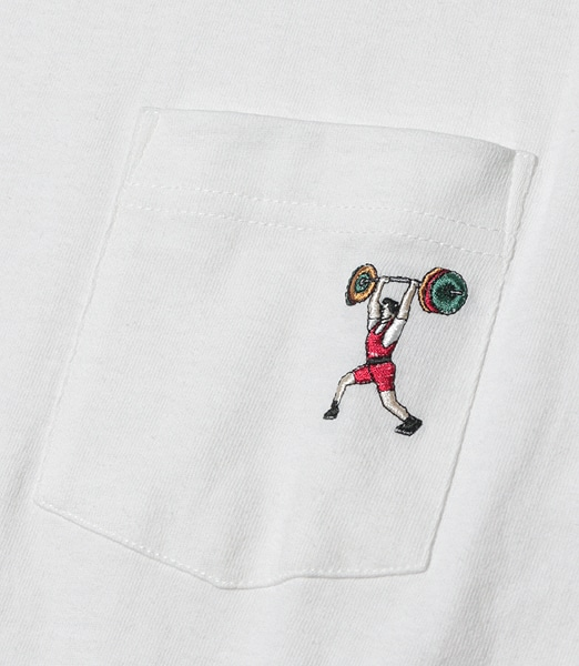 GOOD ON Pocket Tee Weight Lifting 【OSHMAN'S別注】 2020SS
