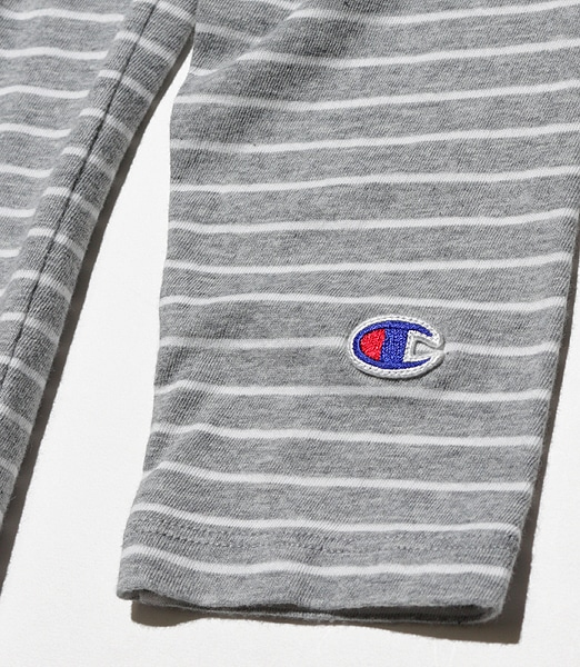 CHAMPION Boat Neck T-shirt CW-P401