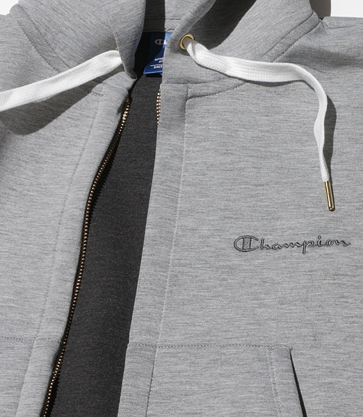 CHAMPION Wrap-Air Zip Sweat Hoodie
