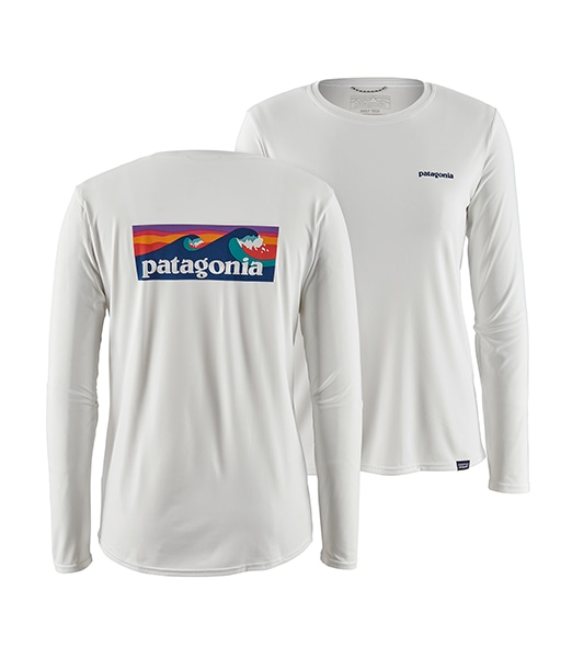 PATAGONIA W's Long-Sleeved Capilene Cool Daily Graphic Shirt 2020SS
