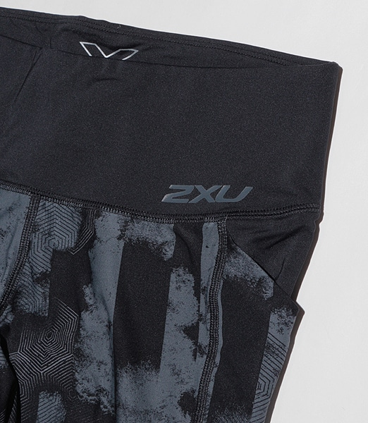 2XU Mid-Rise Pocket Compression Tights