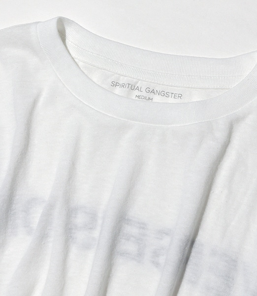 SPIRITUAL GANGSTER Universe Solstice Cropped Tee