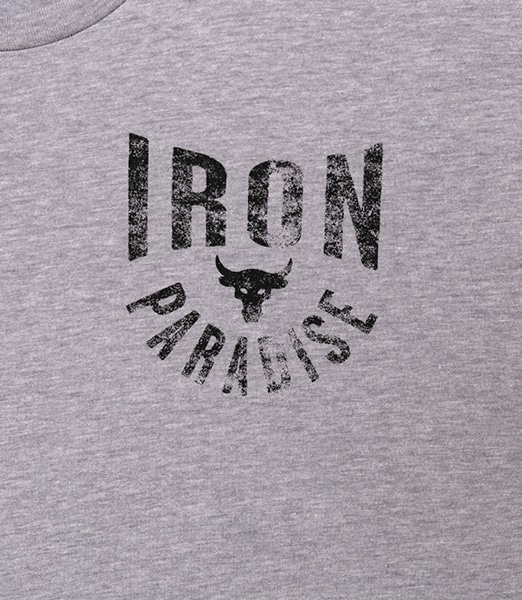 UNDER ARMOUR Project Rock Iron Paradise Short Sleeve