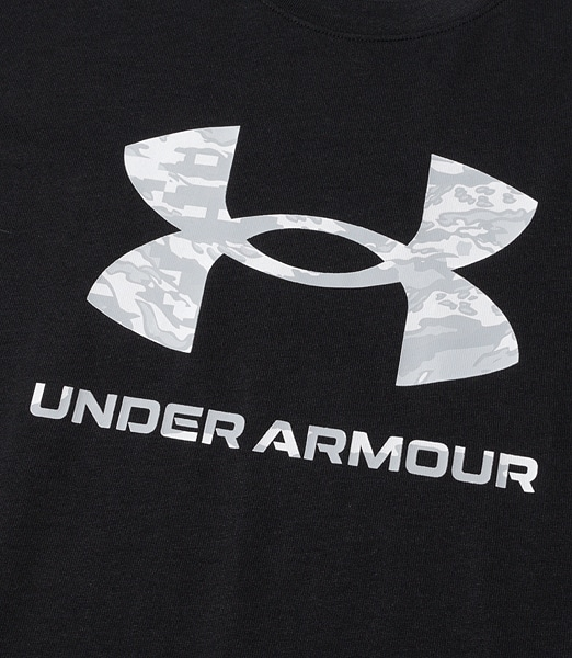 UNDERARMOUR ABC Camo Big Logo Short Sleeve
