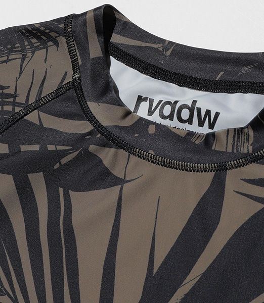 REVERSAL Palm Reef Rash Guard 2020SS