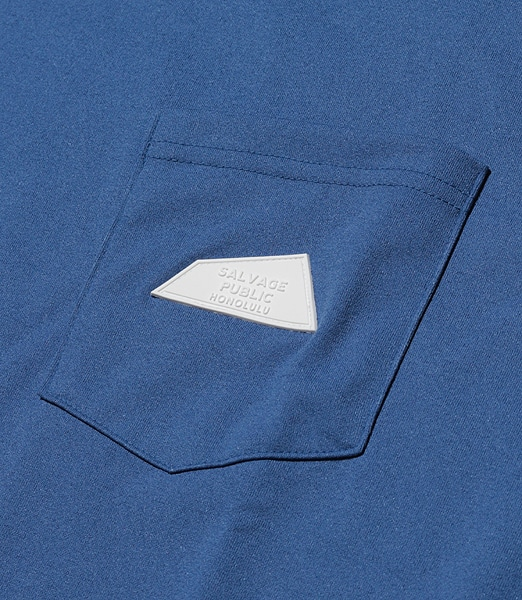 SALVAGE PUBLIC Logo Patch Pocket Tee 【OSHMAN'S別注】 2020SS