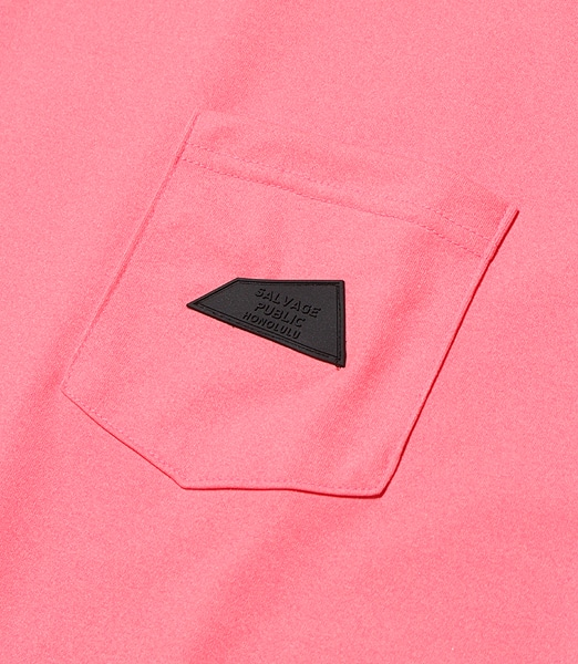 SALVAGE PUBLIC Logo Patch Pocket L/S Tee 【OSHMAN'S別注】 2020SS