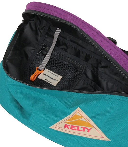 KELTY Mini Fanny Color Block 【OSHMAN'S別注】 2019SS