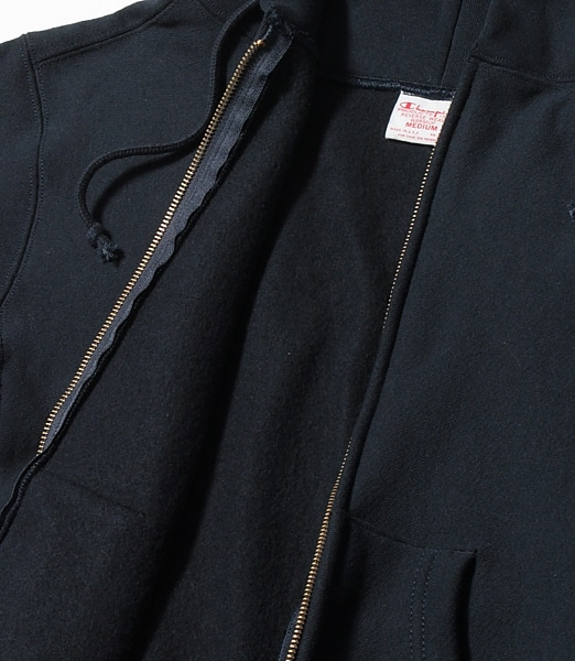 CHAMPION US Reverse Weave Full-Zip Parka【Made in USA】