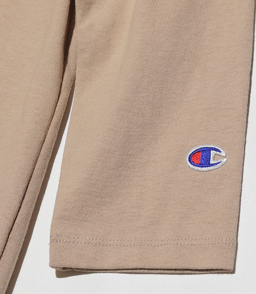 CHAMPION W's 3/4 Sleeve Football T-Shirt 2020SS