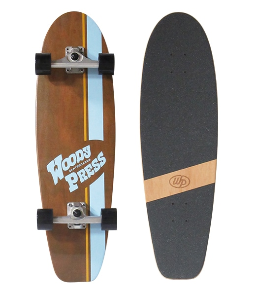 WOODY PRESS SKATEBOARD Carving 32inch