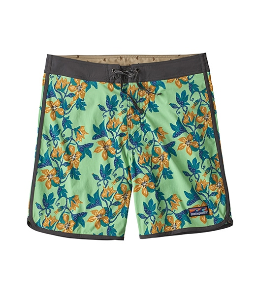 "PATAGONIA Scallop Hem Stretch Wavefarer Boardshorts-18"" 2020SS"