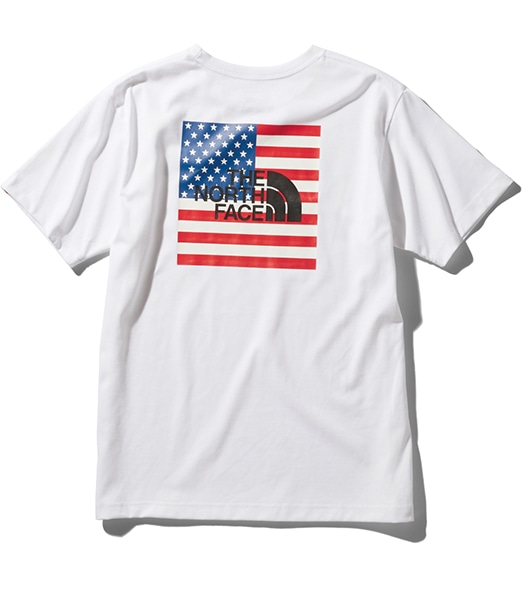 THE NORTH FACE S/S National Flag Tee 2020SS
