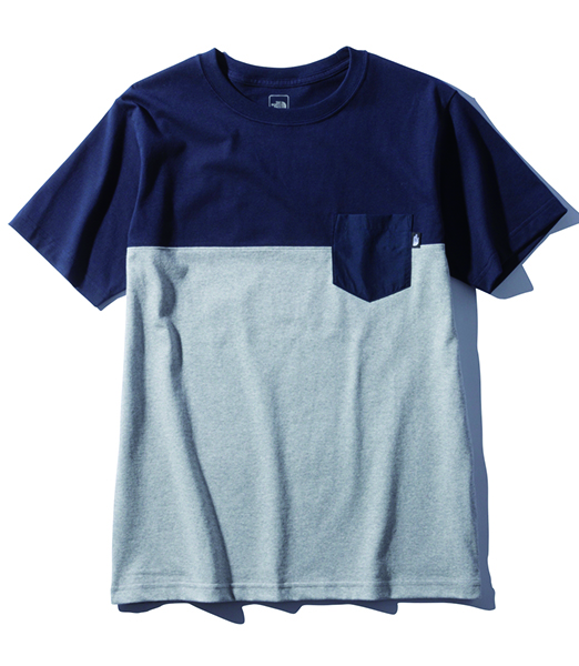 THE NORTH FACE S/S 2Tone Pocket Tee 2020SS