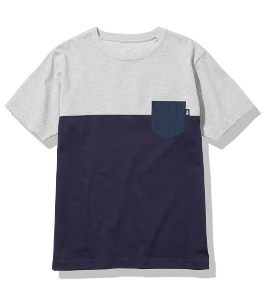 THE NORTH FACE S/S 2 Tone Pocket Tee