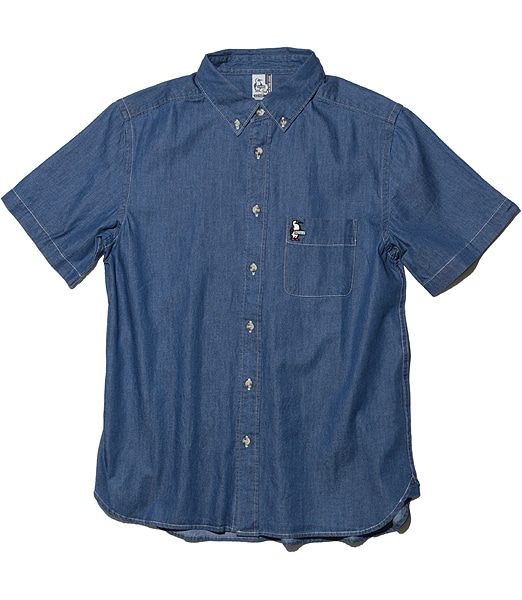 CHUMS Denim S/S Shirt 2020SS