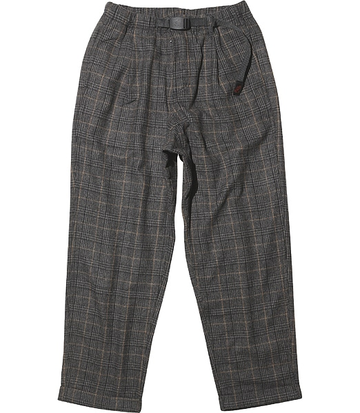 GRAMICCI Wool Blend Tuck Tapered Pants 2019FW
