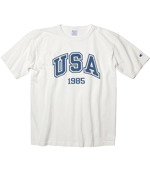 CHAMPION T1011 US TEE USA 1985 【OSHMAN'S別注】