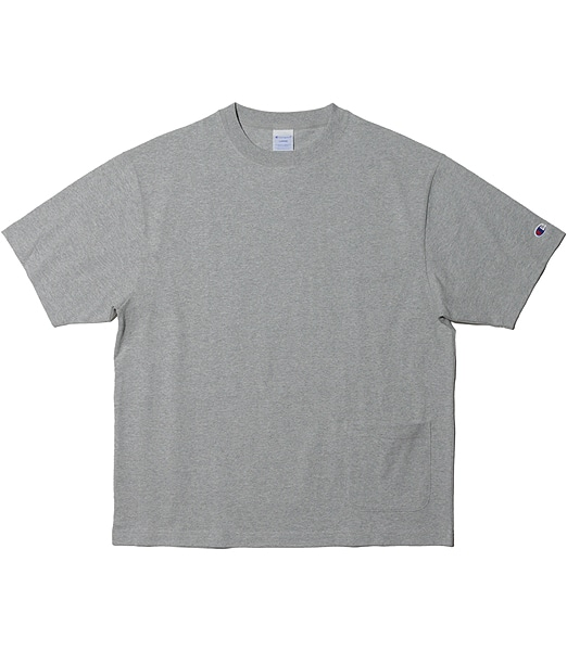 CHAMPION Oversize Side Pocket T-Shirts 【OSHMAN'S別注】