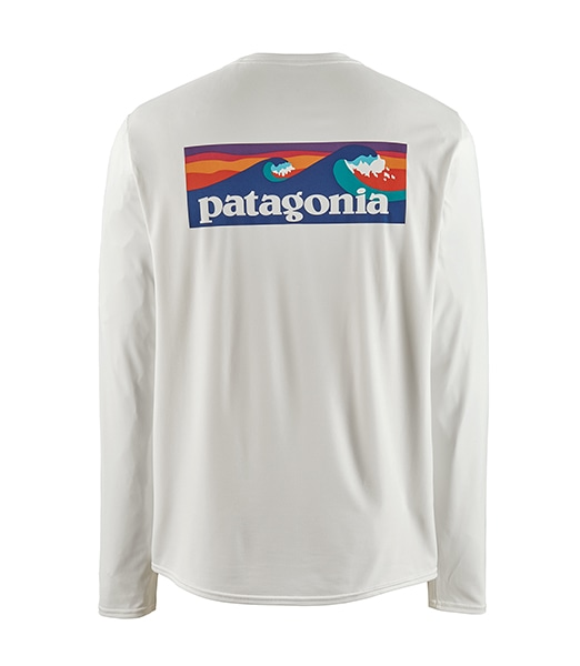 PATAGONIA LS Capilene Cool Daily Graphic Shirts