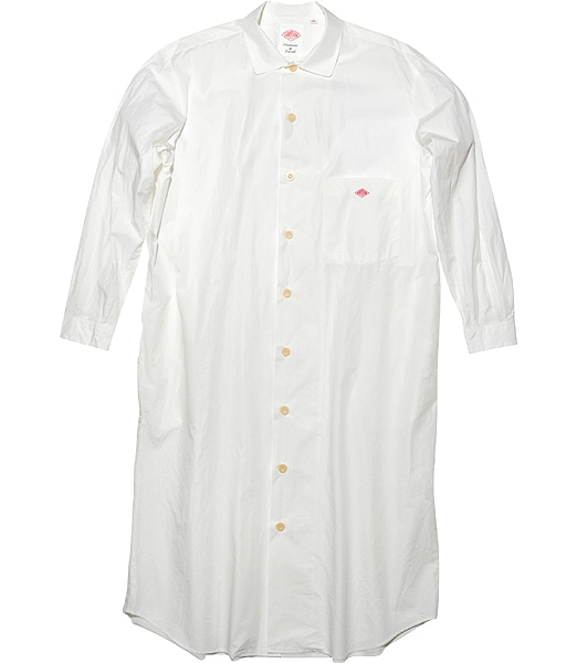 DANTON Cotton Poplin Shirt One-piece 2020SS