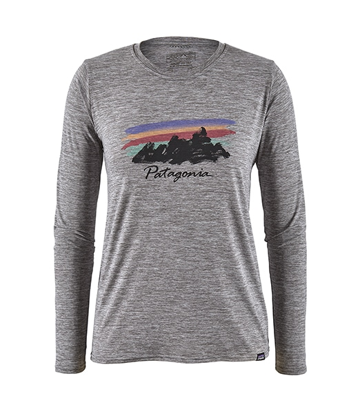 PATAGONIA W's Long-Sleeved Capilene Cool Daily Graphic Shirt