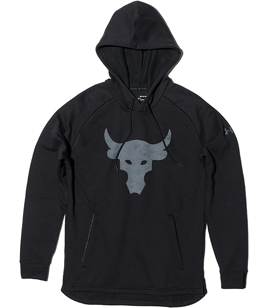 UNDER ARMOUR Project Rock Brahma Bull Charged Cotton Hoodie 1362104