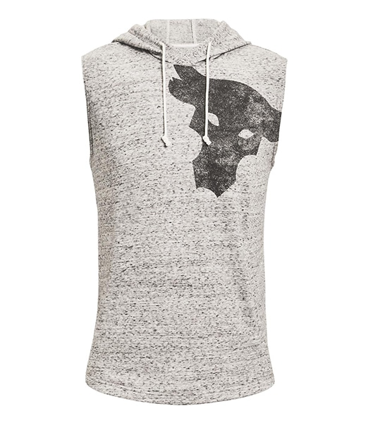 UNDER ARMOUR Project Rock Terry Bull Sleeveless Hoodie