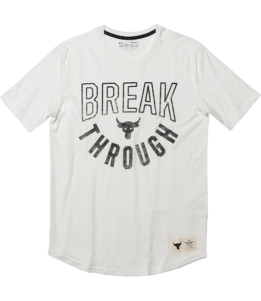 UNDER ARMOUR Project Rock Breakthrough Short Sleeve