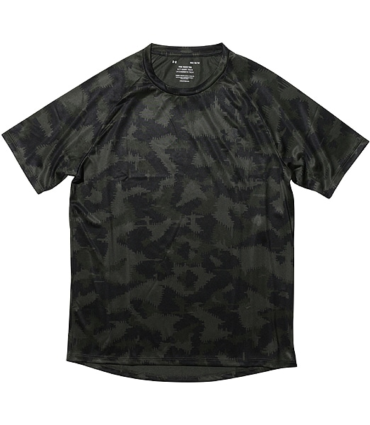 UNDERARMOUR UA Tech 2.0 Camo Short Sleeve